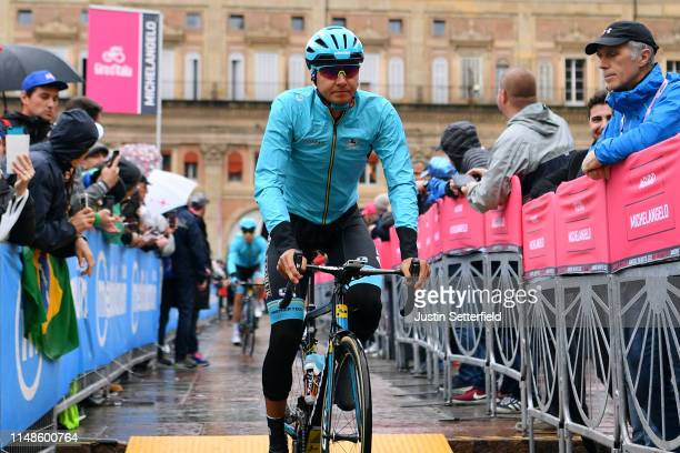 Start / Andrey Zeits of Kazahkstan and Astana Pro Team / Main Square / Bologna City / during the 102nd Giro d'Italia 2019 Stage 2 a 205km stage from...
