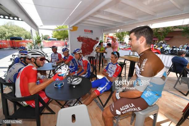 Start / Antoine Duchesne of Canada / Mickael Delage of France / Georg Preidler of Austria / Marc Sarreau of France / Rudy Molard of France and Team...