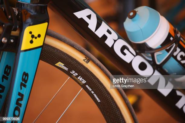 Start / Argon 18 Bike / Detail view / during the 105th Tour de France 2018 Stage 9 a 1565 stage from Arras Citadelle to Roubaix on July 15 2018 in...