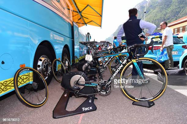 Start / Astana Pro Team / Tacx Rollers / Argon 18 Bike / during the 101st Tour of Italy 2018 Stage 17 a 155km stage from Riva Del Garda to Iseo...