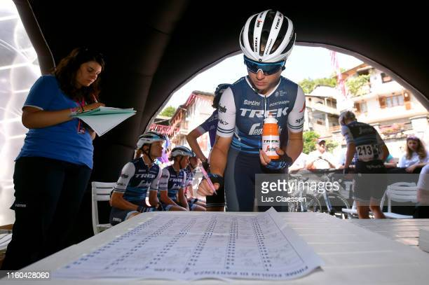 Start / Audrey Cordon-Ragot of France and Team Trek- Segafredo / Sing In / during the 30th Tour of Italy 2019 - Women, Stage 2 a 78,3km stage from...