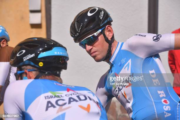 Start / Ben Hermans of Belgium and Team Israel Cycling Academy / during the 42nd Tour of the Alps 2018 Stage 4 a 1344 stage from Chiusa/Klausen to...