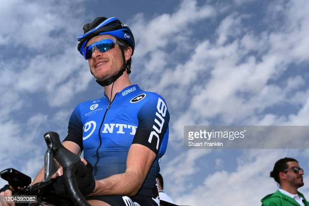 Start / Benjamin King of The United States and Team NTT Pro Cycling / King Saud University / during the 1st Saudi Tour 2020, Stage 3 a 119km stage...
