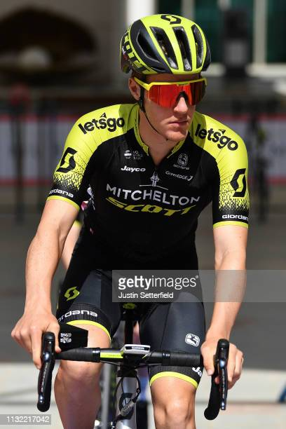 Start / Callum Scotson of Australia and Team MitcheltonScott / during the 5th UAE Tour 2019 Stage 3 a 179km stage from Al Ain to Jebel Hafeet 1024m /...
