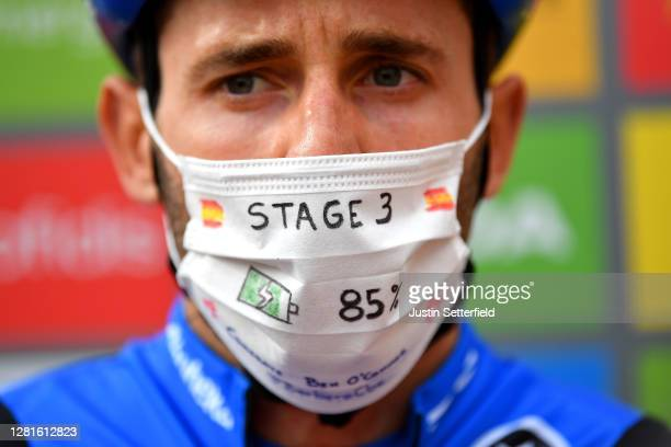 Start / Carlos Barbero Cuesta of Spain and NTT Pro Cycling Team / Ben O'connor of Australia and NTT Pro Cycling Team / Congratulations on winning the...
