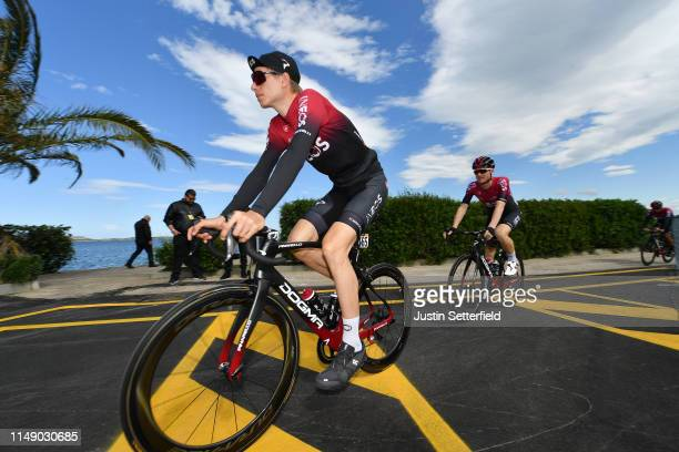 Start / Christian Knees of Germany and Team INEOS / during the 102nd Giro d'Italia 2019, Stage 4 a 235km stage from Orbetello to Frascati 319m / Tour...