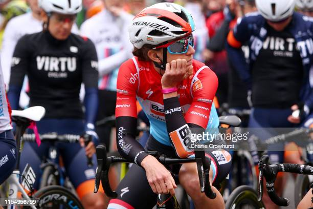 Start / Christine Majerus of Luxembourg and Team Boels Dolmans / during the 6th OVO Energy Women's Tour 2019 Stage 1 a 1576 km stage from Beccles to...