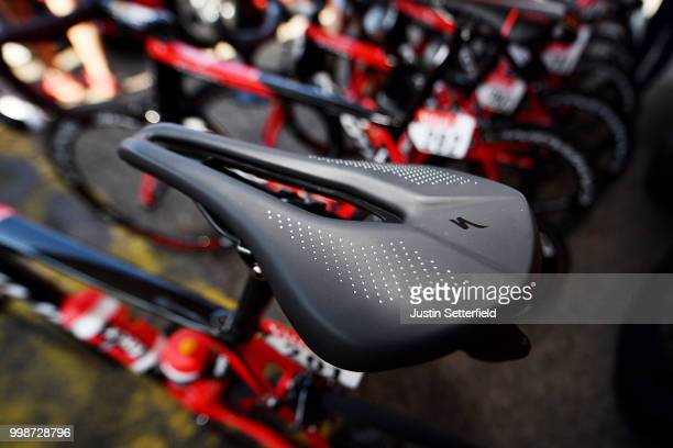 Start / Christophe Laporte of France and Team Cofidis / Saddle Detail View / during the 105th Tour de France 2018 Stage 8 a 181km stage from Dreux to...
