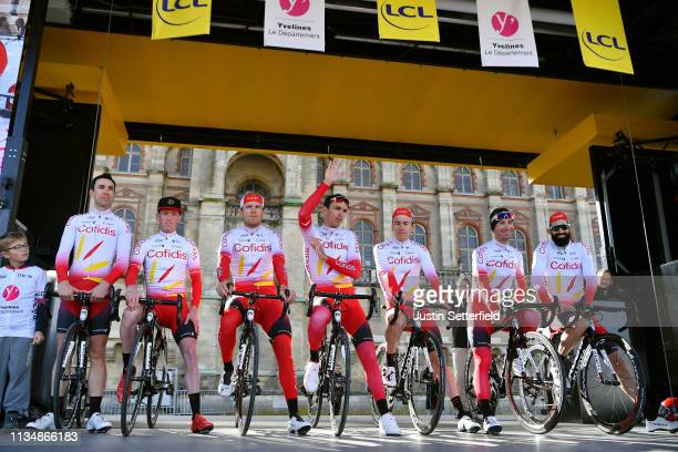 Start / Christophe Laporte of France and Team Cofidis Solutions Credits / Nicolas Edet of France and Team Cofidis Solutions Credits / Jesper Hansen...