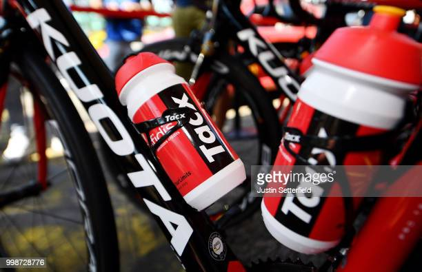 Start / Christophe Laporte of France and Team Cofidis / Tacx Bottle / Kuota Bike / Detail View / during the 105th Tour de France 2018 Stage 8 a 181km...