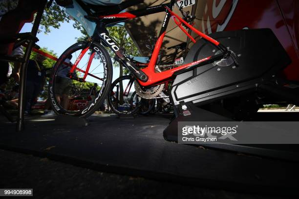 Start / Christophe Laporte of France and Team Cofidis / Tacx Roller / Kuota Bike / during the 105th Tour de France 2018 Stage 3 a 355km Team time...