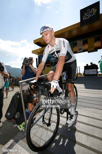 Start / Christopher Froome of Great Britain and Team Sky / during the 105th Tour de France 2018 / Stage 10 a 1585km stage from Annecy to Le...