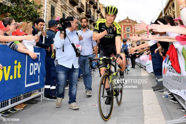 Start / Christopher Juul Jensen of Denmark and Team Mitchelton-Scott / Fans / Public / during the 101th Tour of Italy 2018, Stage 6 a 164km stage...