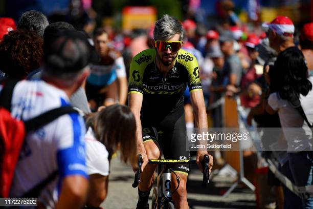 Start / Damien Howson of Australia and Team Mitchelton-Scott / Public / Fans / during the 74th Tour of Spain 2019, Stage 11 a 180km stage from Saint...