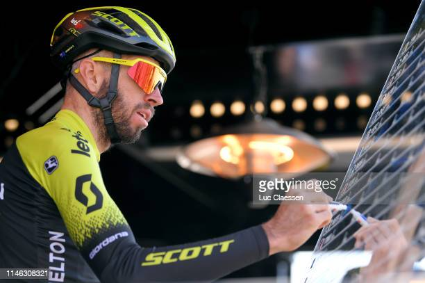 Start / Damien Howson of Australia and Team Mitchelton-Scott / Sing in / during the 73rd Tour de Romandie 2019, Stage 1 a 168,4km stage from...