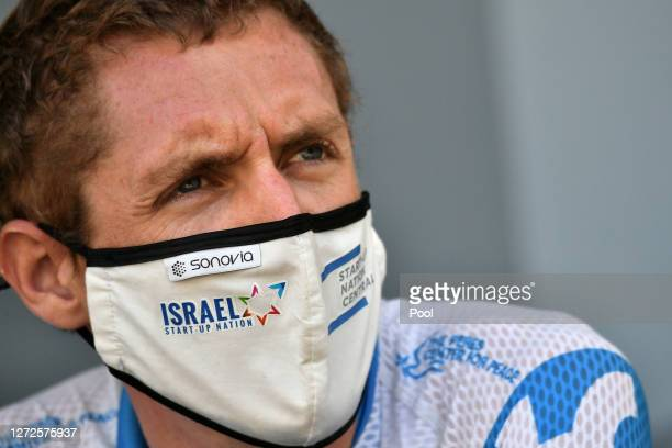 Start / Daniel Martin of Ireland and Team Israel StartUp Nation / Mask / Covid Safety Measures / during the 107th Tour de France 2020 Stage 16 a...