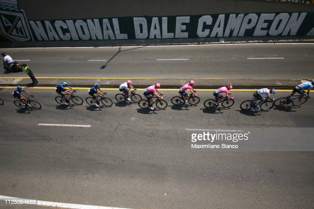 Start / Daniel Martínez of Colombia and EF Education First Pro Cycling Team White Best Young Jersey / Lawson Craddock of The United States and EF...