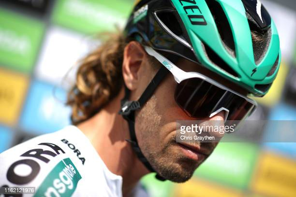 Start / Daniel Oss of Italy and Team Bora-Hansgrohe / during the 106th Tour de France 2019, Stage 10 a 217,5km stage from Saint-Flour to Albi / TDF /...