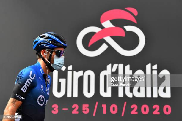 Start / Danilo Wyss of Switzerland and NTT Pro Cycling Team / Catania City / during the 103rd Giro d'Italia 2020, Stage 4 a 140km stage from Catania...