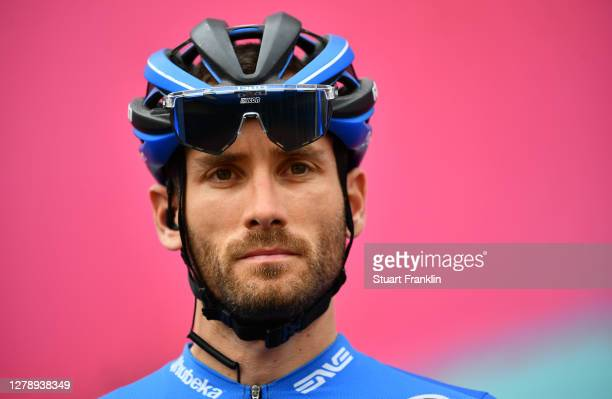 Start / Danilo Wyss of Switzerland and NTT Pro Cycling Team / Team Presentation / during the 103rd Giro d'Italia 2020, Stage 5 a 225km stage from...