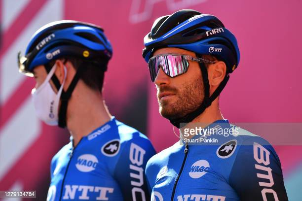 Start / Danilo Wyss of Switzerland and NTT Pro Cycling Team / Castrovillari Village / during the 103rd Giro d'Italia 2020, Stage 6 a 188km stage from...
