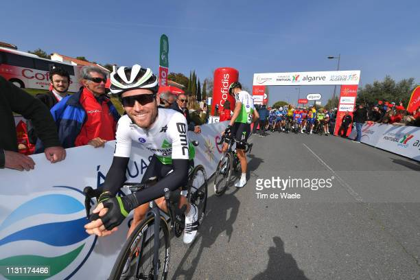 Start / Danilo Wyss of Switzerland and Team Dimension Data / during the 45th Volta ao Algarve, Stage 2 a 187,4 km stage from Almodôvar to Alto Da...