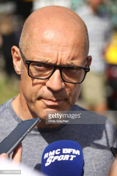 Start / Dave Brailsford of Great Britain Team Manager of Team Sky / during the 105th Tour de France 2018, Stage 19 a 200,5km stage from Lourdes to...