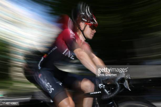 Start / David de la Cruz of Spain and Team INEOS / during the 14th Amgen Tour of California 2019 Stage 1 a 143km stage from Sacramento to Sacramento...