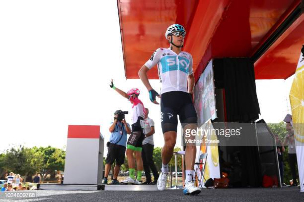 Start / David De La Cruz of Spain and Team Sky / during the 73rd Tour of Spain 2018 Stage 3 a 1782km stage from Mijas to Alhaurin de la Torre 105m /...