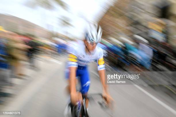 Start / Davide Ballerini of Italy and Team Deceuninck - Quick-Step / during the 71st Volta a la Comunitat Valenciana 2020, Stage 3 a 174,6km stage...
