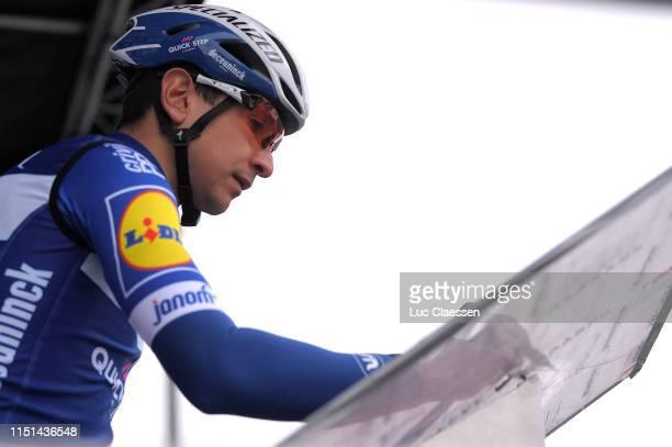 Start / Davide Martinelli of Italy and Team Deceuninck QuickStep / Sing In / Team Presentation / during the 3rd Velon Hammer Series 2019 Hammer Climb...