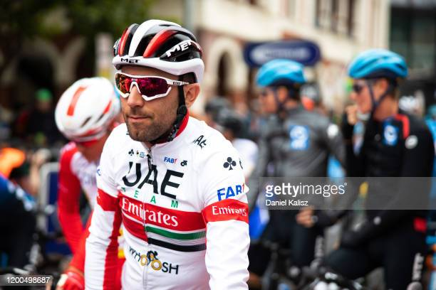 Start / Diego Ulissi of Italy and UAE Team Emirates / during the 22nd Santos Tour Down Under - Schwalbe Classic a 51km race from Adelaide to Adelaide...