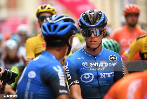 Start / Dylan Sunderland of Australia and NTT Pro Cycling Team / Mileto City / during the 103rd Giro d'Italia 2020, Stage 5 a 225km stage from Mileto...