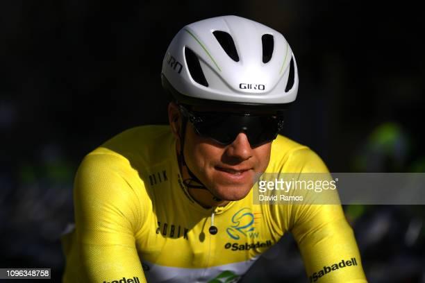Start / Edvald Boasson Hagen of Norway and Team Dimension Data Yellow Leader Jersey / during the 70th Volta a la Comunitat Valenciana 2019 - Stage 4,...