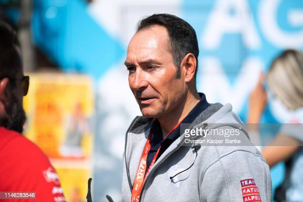 Start / Erik Zabel of Germany Performance Manager of Team Katusha-Alpecin / during the 58th Rund um den Finanzplatz Eschborn-Frankfurt 2019 a 187,5km...