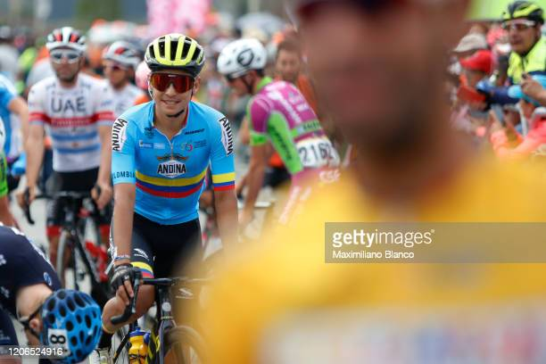 Start / Esteban Chaves of Colombia and Team Colombia / during the 3rd Tour of Colombia 2020, Stage 5 a 180,5km stage from Paipa to Zipaquirá /...