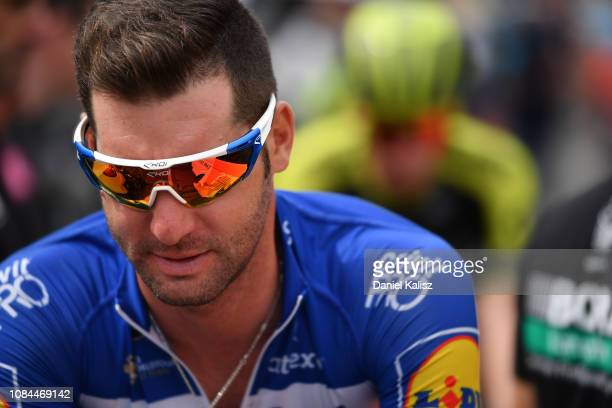 Start / Fabio Sabatini of Italy and Deceuninck QuickStep looks on during the 21st Santos Tour Down Under 2019 Stage 4 a 1292km stage from Unley to...