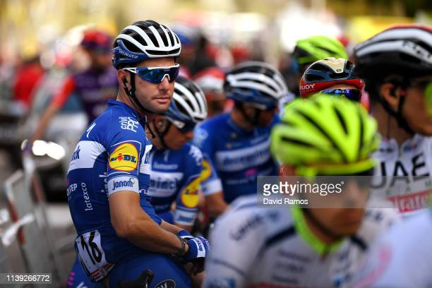 Start / Fabio Sabatini of Italy and Team Deceuninck QuickStep / during the 99th Volta Ciclista a Catalunya 2019 Stage 6 a 1691km stage from Valls to...