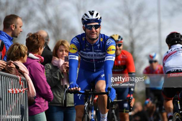 Start / Fabio Sabatini of Italy and Team Deceuninck QuickStep / Fans / Public / during the 77th Paris Nice 2019 Stage 3 a 200km stage from Cepoy to...