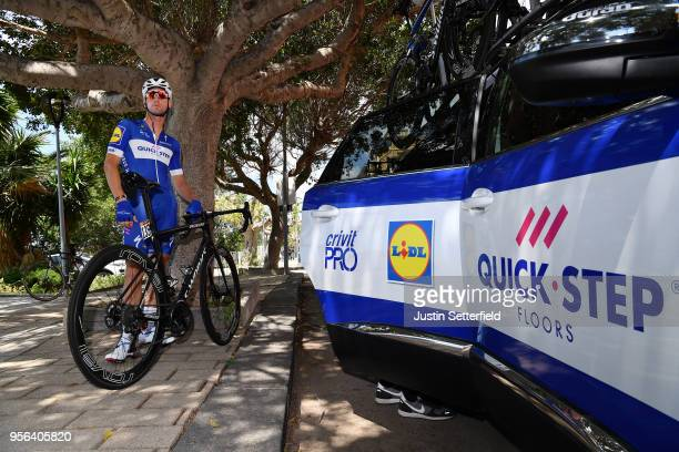 Start / Fabio Sabatini of Italy and Team QuickStep Floors / Car / during the 101th Tour of Italy 2018 Stage 5 a 153km stage from Agrigento to Santa...