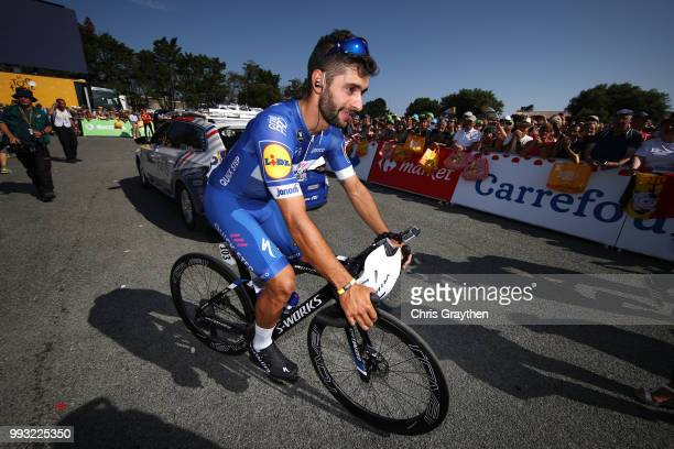 Start / Fernando Gaviria of Colombia and Team QuickStep Floors / during the 105th Tour de France 2018 Stage 1 a 201km from NoirmoutierEnL'ile to...