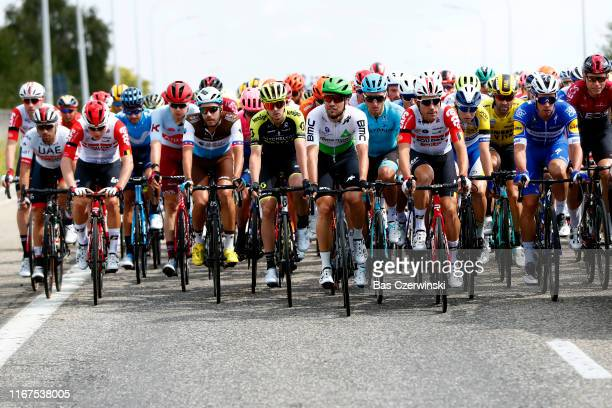 Start / Frederik Frison of Belgium and Team Lotto Soudal / Remy Mertz of Belgium and Team Lotto Soudal / Harry Tanfield of United Kingdom and Team...