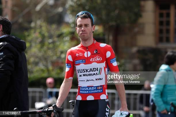Start / Garikoitz Bravo of Spain and Team Euskadi Basque Country - Murias Polka Dot Mountain Jersey / during the 59th Itzulia-Vuelta Ciclista Pais...