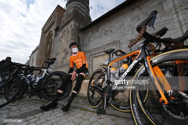 Start / Garikoitz Bravo Oiarbide of Spain and Team Euskaltel - Euskadi during the 56th Presidential Cycling Tour of Turkey 2021, Stage 3 a 212,6km...