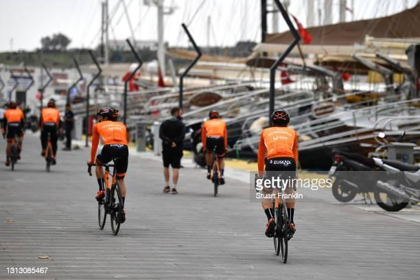 Start / Garikoitz Bravo Oiarbide of Spain and Team Euskaltel - Euskadi and Teammates during the 56th Presidential Cycling Tour Of Turkey 2021, Stage...
