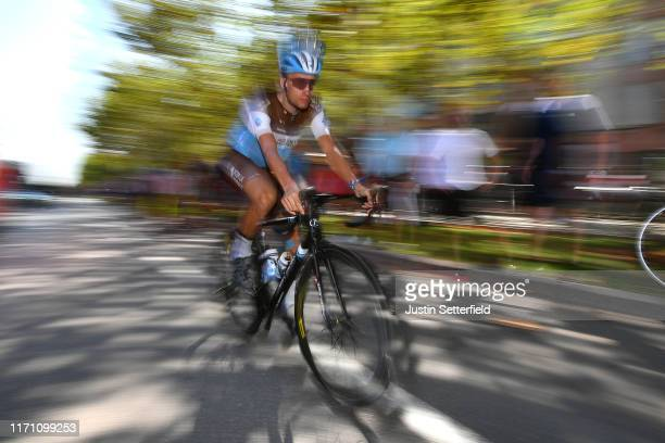 Start / Geoffrey Bouchard of France and Team AG2R La Mondiale / during the 74th Tour of Spain 2019, Stage 7 a 179,1km stage from Onda to Mas de La...