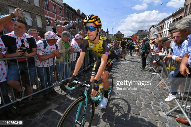 Start / George Bennett of New Zealand and Team Jumbo-Visma / Binche City / Fans / Public / during the 106th Tour de France 2019, Stage 3 a 215km...