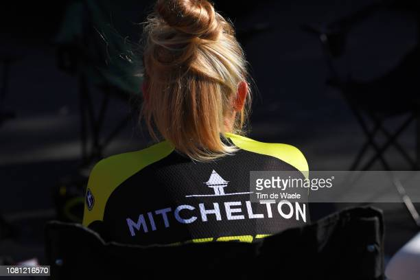 Start / Georgia Williams of New Zealand and Team MitcheltonScott / during the 5th Santos Women's Tour Down Under 2019 Stage 3 a 1045km stage from...