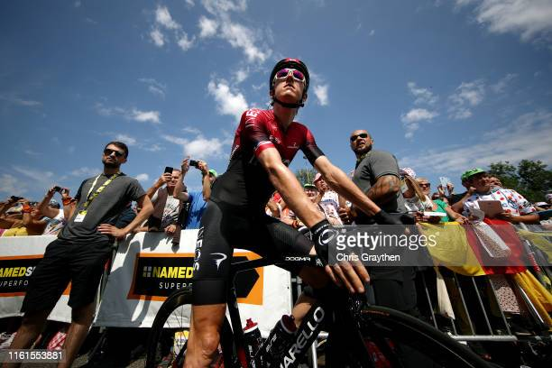 Start / Geraint Thomas of United Kingdom and Team INEOS / during the 106th Tour de France 2019, Stage 7 a 230km stage from Belfort to...