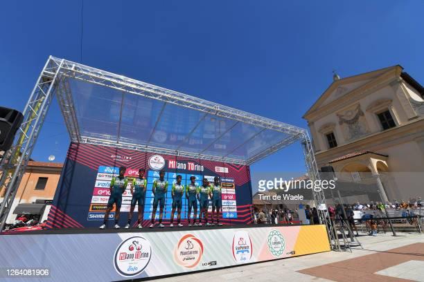 Start / Giovanni Visconti of Italy, Lorenzo Fortunato of Italy, Marco Frapporti of Italy, Andrea Garosio of Italy, Alessandro Iacchi of Italy,...